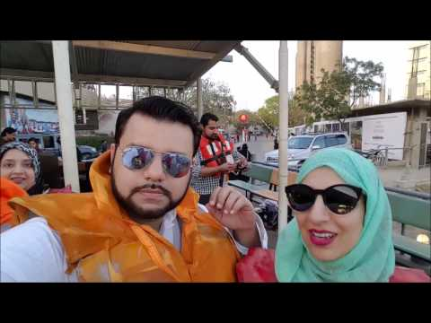 Cruising along PORT GRAND in Karachi