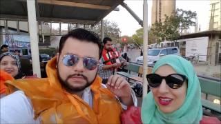 Cruising along PORT GRAND in Karachi