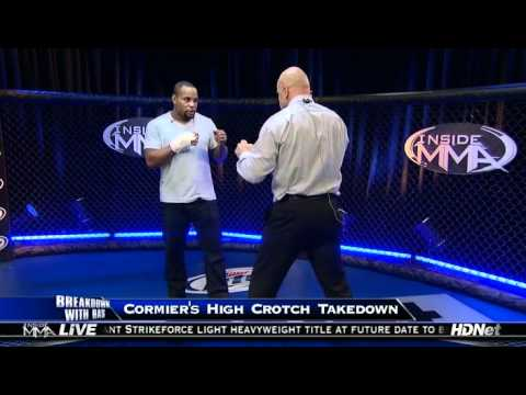 Inside MMA 2012 05 21 - Daniel Cormier's High Crotch Breakdown