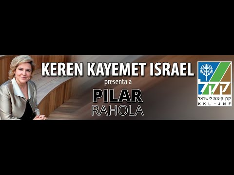 """KEREN KAYEMET LEISRAEL Presenta A Pilar Rahola """"Israel, Oriente Medio Y El Mundo En El Post Covid"""""""