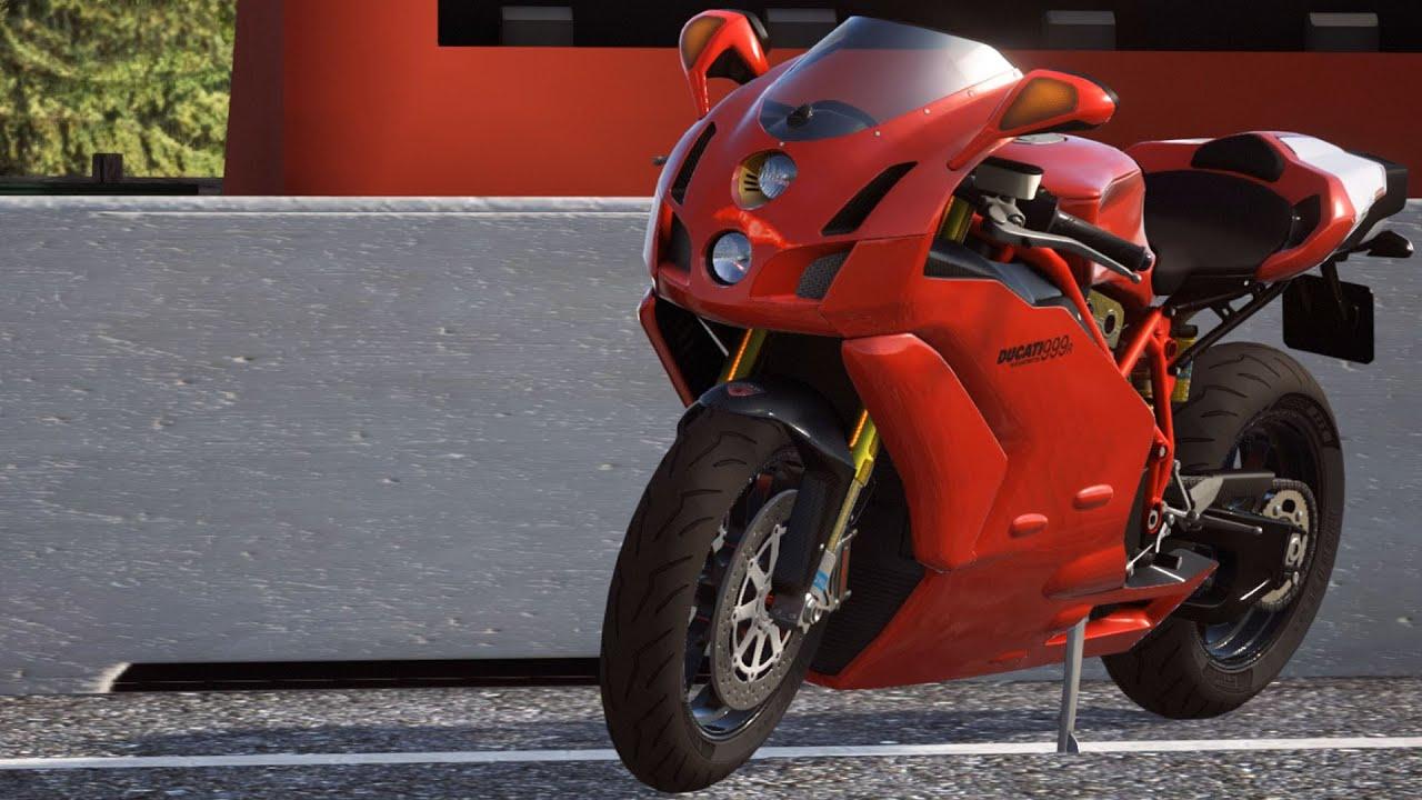 Ducati 999 R 2006 - DUCATI - 90th Anniversary - Test Ride Gameplay ...