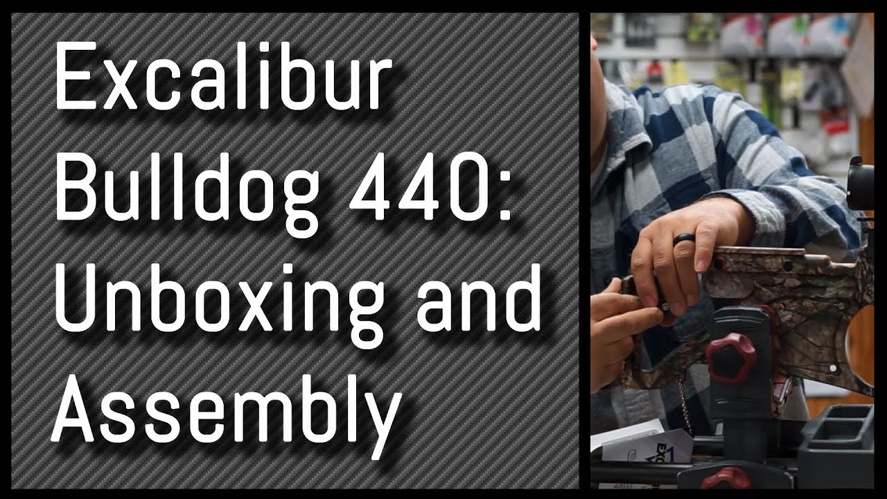 Excalibur Bulldog 440: Full Unboxing and Assembly Guide