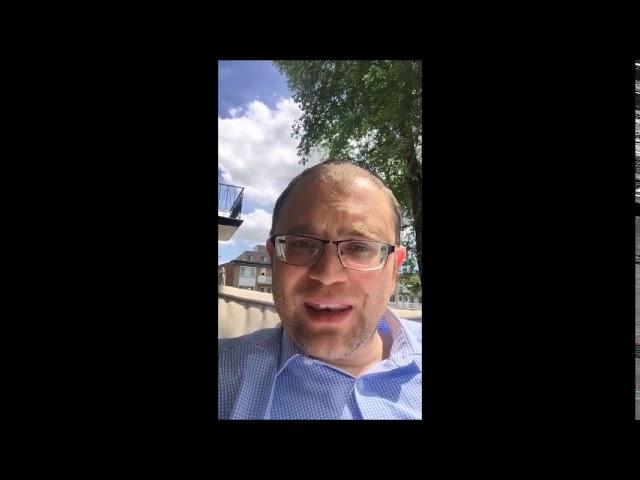 Shabbat Video Message from Rabbi Knopf - July 16, 2020