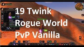 Vanilla WoW Level 19 Twink World PvP (Nostalrius)