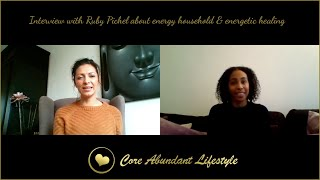 INTERVIEW WITH RUBY PICHEL, CREATINGYOU.NL ABOUT ENERGY HOUSEHOLD & ENERGETIC HEALING • 29/11/2020
