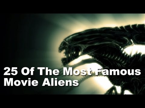 25 Of The Most Famous Movie Aliens
