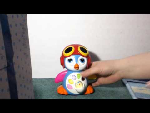 Aipai Baby Musical Penguin Toys EQ& Intelligence Training , Battery Operated with Swing ,Walking , L