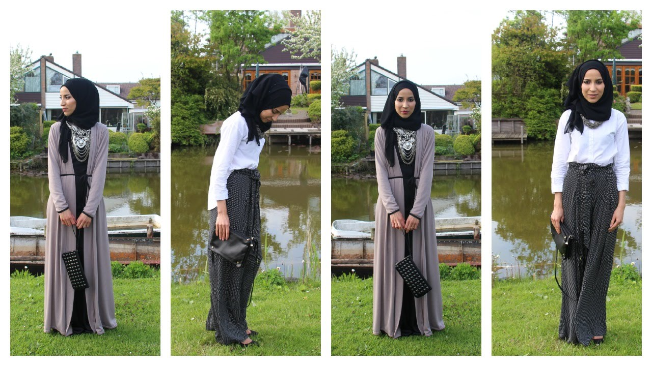 Favori Wedding hijab style - YouTube DE16