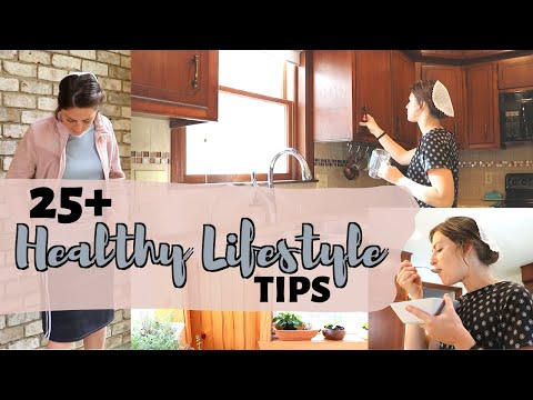 25 SIMPLE Ways I Live A Healthy Lifestyle As A Mennonite Mom