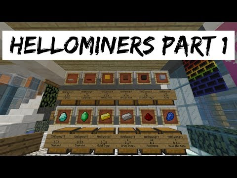 Hellominers Server Part 1! [Shop Pricing!] - (Minecraft)