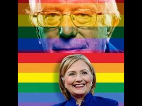 Hillary Clinton VS. Bernie Sanders on Gay Rights and LGBT Equality