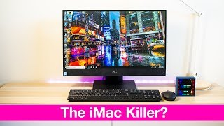 New Inspiron 24 5000 All in One REVIEW Is it the iMac Killer 8th Gen 6 Core GTX 1050