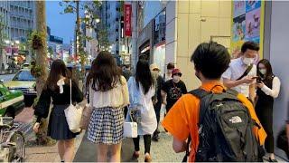 【4K】Tokyo Evening Walk  From Shibuya to Omotesando, 2020