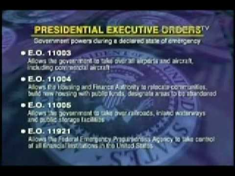 Executive Orders from Hell!    Why would an American President ever do this?