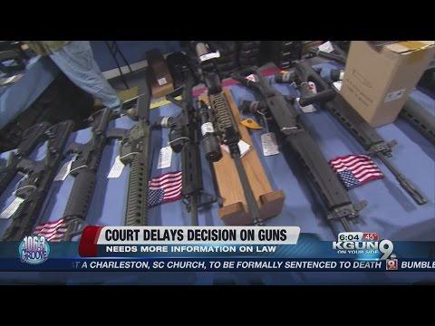 AZ Supreme Court delays gun policy decision
