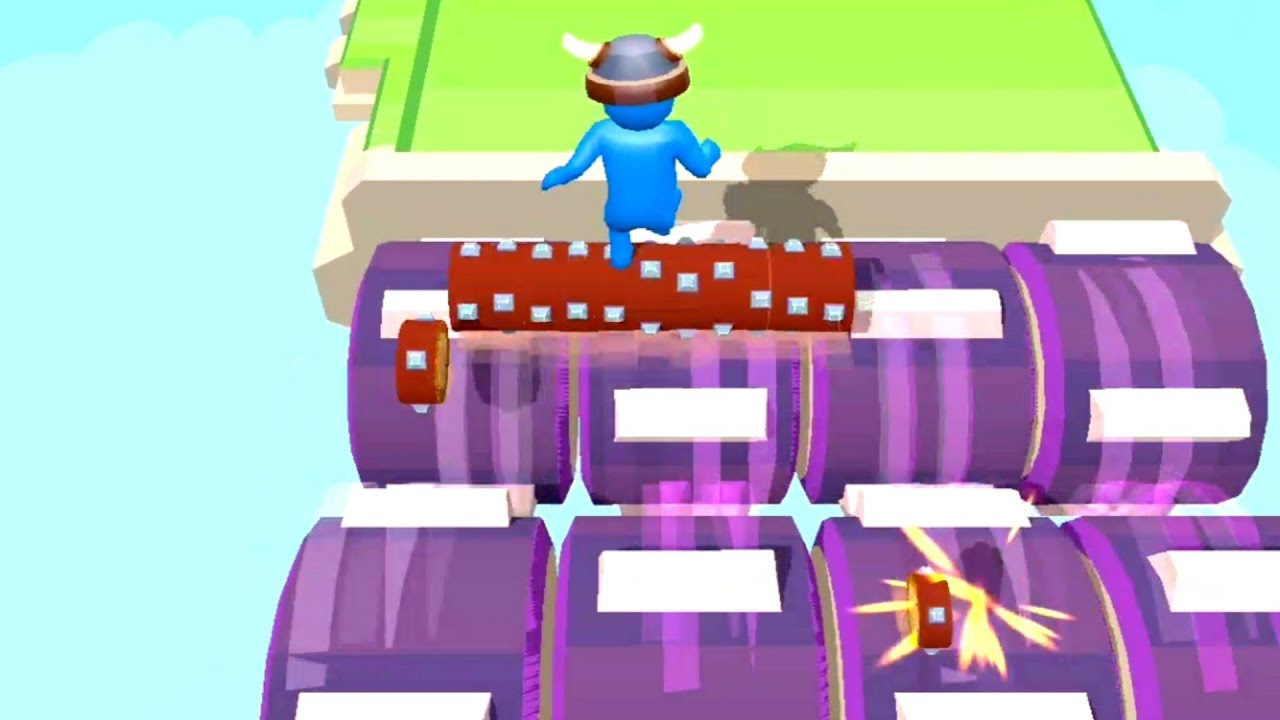 Download ROBIN WOOD - ROLLING LOG GAMEPLAY WALKTHROUGH PART 2