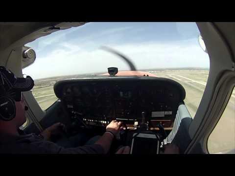 Episode 32 - C172 POV Turbulent XC Flight (KPWA-O38)