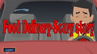 Food Delivery Scary Story (Animate in Hindi) |IamRocker|