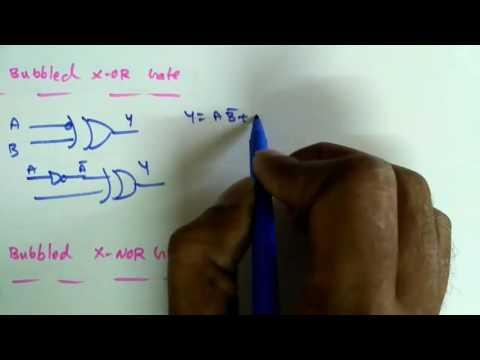 Digital Circuits Lecture-20: Alternate Logic Gates (Bubbled Gates)