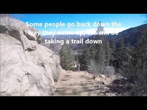 Manitou Incline Stairs Hike Colorado , 2016