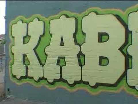 Australian Adelaide Graffiti Art (Paint Pt 2)