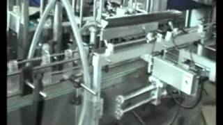 AFM-840B Filling Line couple with Bottle rotary feeding
