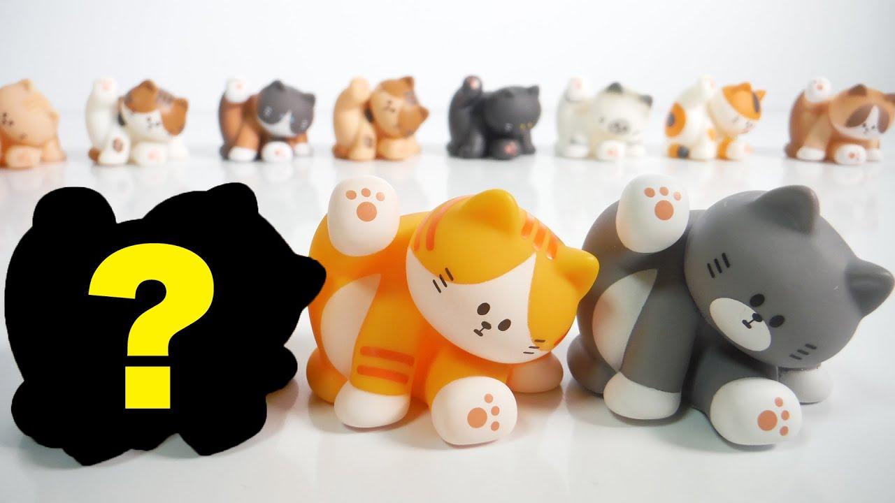 シークレットまた出た!!FLUFFY HOUSE MY HOME CAT Series3『1BOX 開封』フラッフィーハウス マイホームキャット シリーズ3 Figure 子猫 ネコ