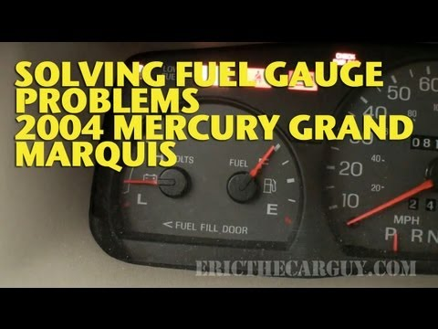 Repairing Fuel Gauge Problems 2004 Mercury Marquis EricTheCarGuy  YouTube