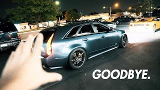 The CTS-V Wagon is GONE :'(
