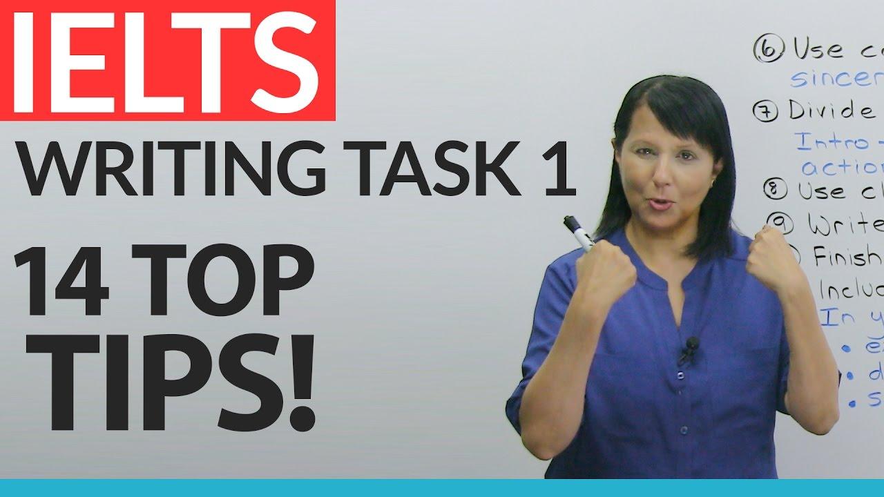 IELTS General: Writing Task 1 – 14 Top Tips! · engVid