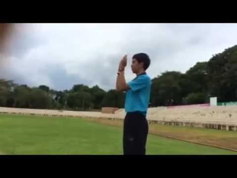 วิธีการใช้สัญญาณมือของผู้ตัดสินวอลเลย์บอล
