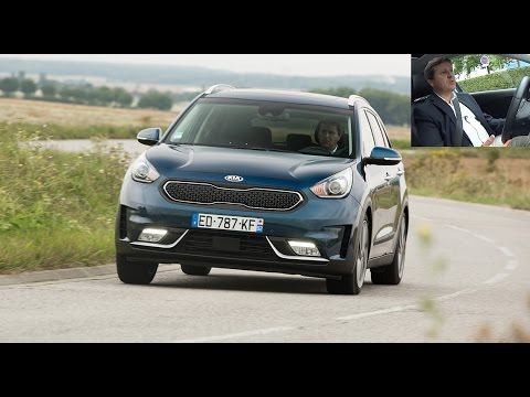 2017 kia niro test video le suv hybride l 39 essai youtube. Black Bedroom Furniture Sets. Home Design Ideas