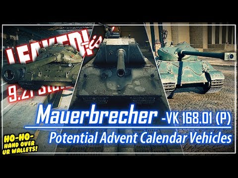 leaked!-ish-mauerbrecher-&-potential-advent-calendar-vehicles-||-world-of-tanks