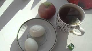 Моё питание.Завтрак.