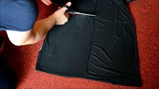 dIY// Как за 30 минут переделать платье в юбку. Паеточная ткань
