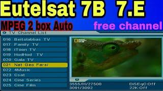 Eutelsat 7A 7B