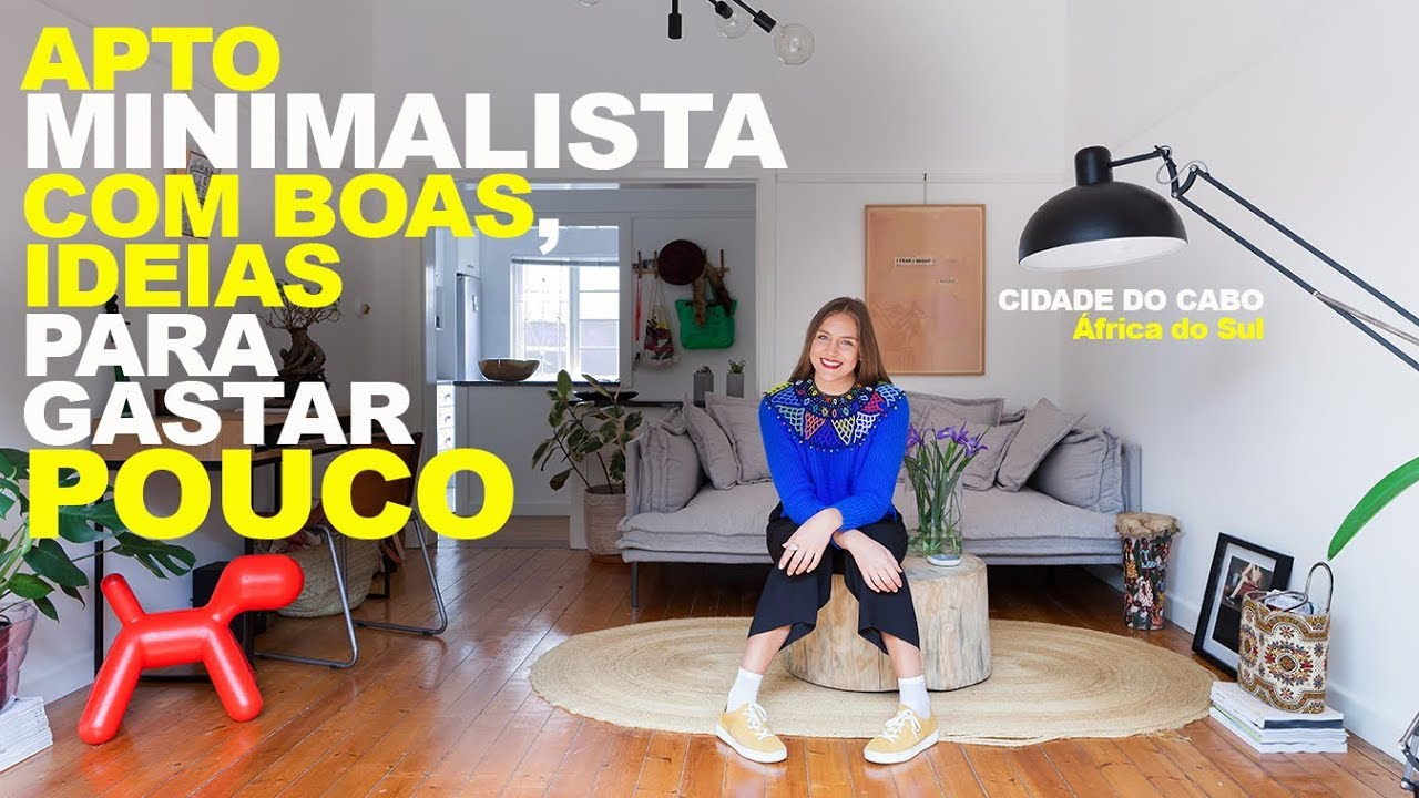 Apto minimalista com ideias para gastar pouco apto for Casa minimalista 300m2