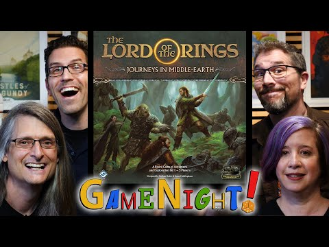 Lord of the Rings: Journeys in Middle-earth - GameNight! Se8 Ep1 - How to Play and Playthrough