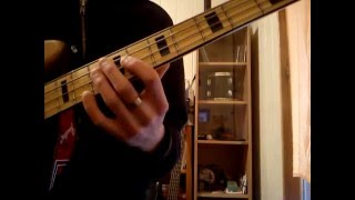 Bob Marley-Get Up,Stand Up (Bass cover by Luxa Hren)