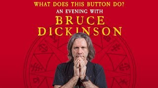 An Evening With Bruce Dickinson - 2019 Tour
