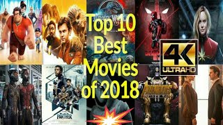 Top 10 action movies 2018