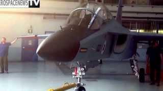 Alenia Aermacchi. Varese rollout del primo M-346 per gli israeliani