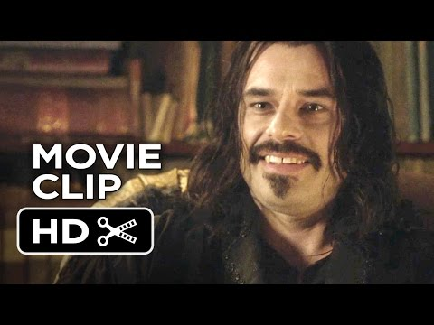 What We Do in the Shadows Movie CLIP - Dinner Party (2014) - Vampire Mocumentary HD