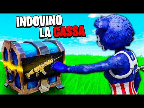 INDOVINO IL LOOT DI OGNI CASSA SU FORTNITE CAPITOLO 2! *ECCO COME*