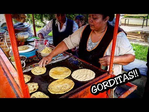 WONDERFUL Mexican Street Food: Gorditas in Central Mexico_Best Street Food In The World