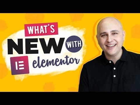 Elementor 2.8 New Features For Everyone - Easier On The Eyes, Speed Up Your Workflow