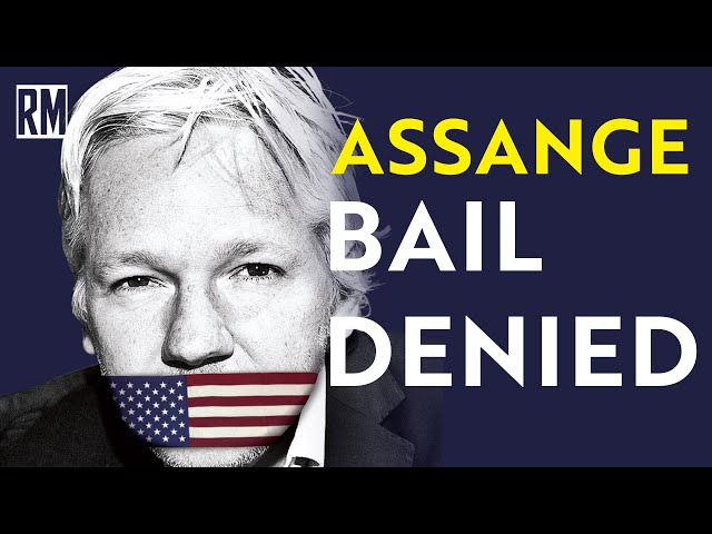 BREAKING: Judge DENIES Julian Assange Bail Request