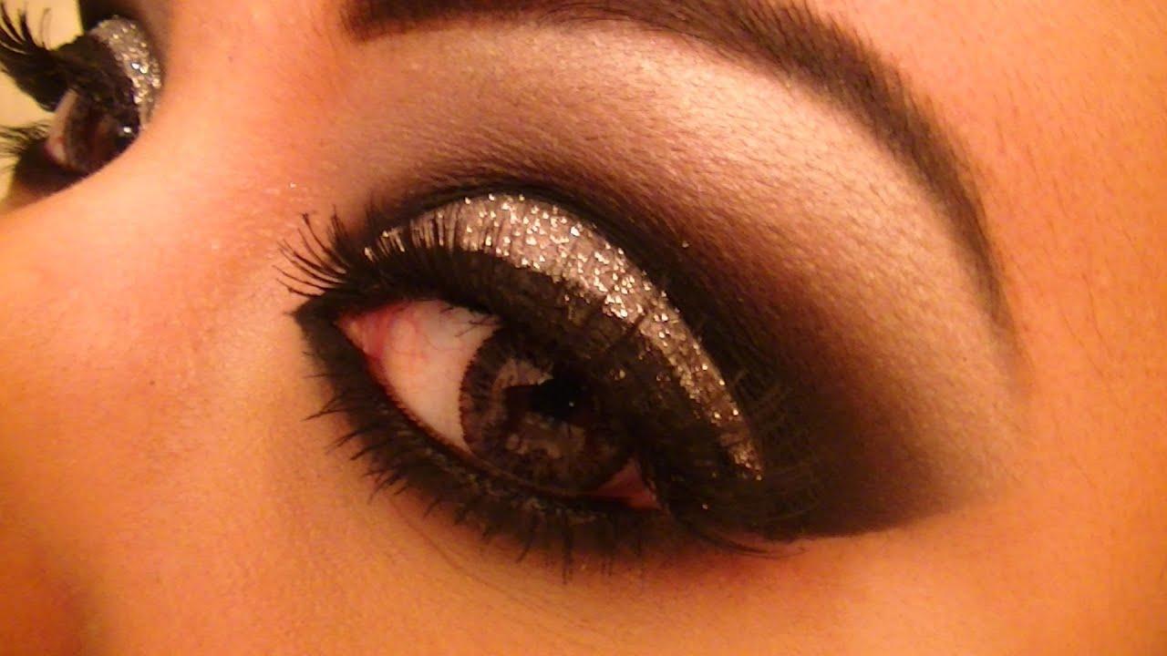 Tutorial de maquillaje: Negro con brillo plata- Juancarlos960