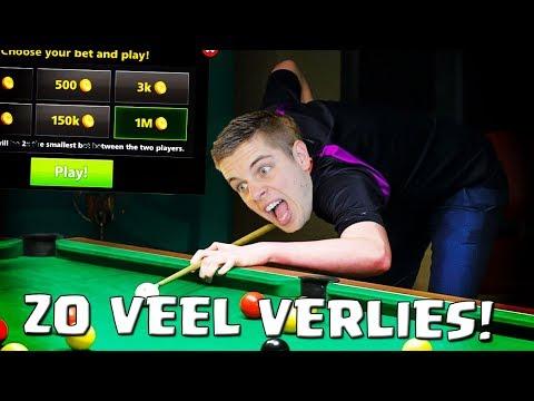 ZO VEEL VERLIES! :( 8 BALL POOL NEDERLANDS