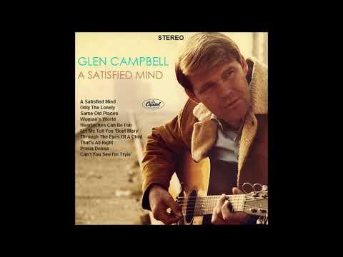 Glen Campbell A Satisfied Mind (Fantasy Album)